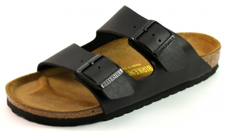 Birkenstock Arizona slippers Zwart BIR19